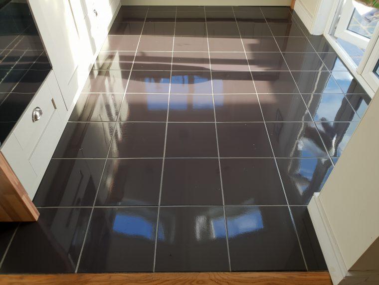 Porcelain Floor Cleaning