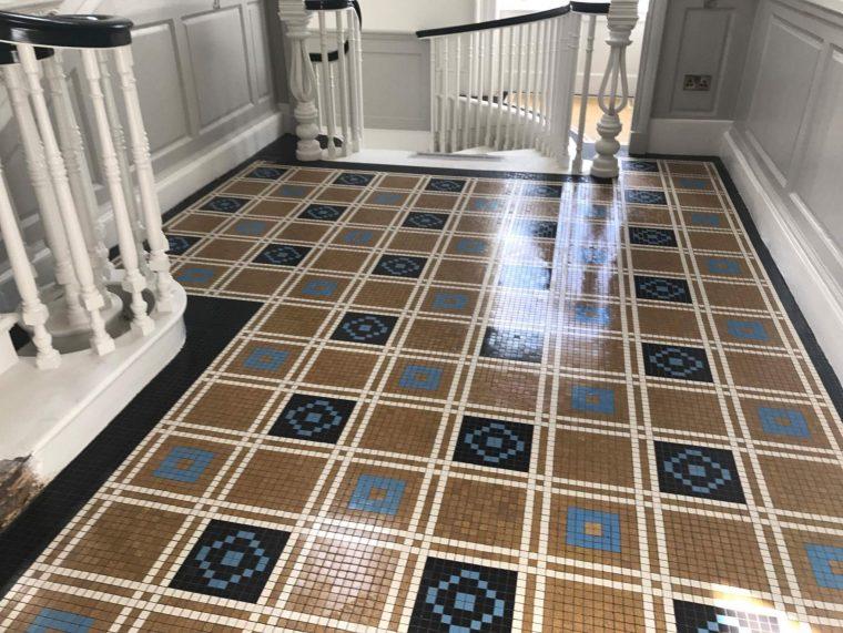 Ceramic Floor Cleaning