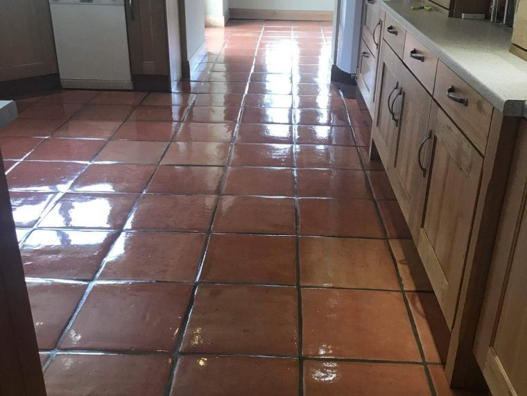 Terracotta Floor Cleaning - Deep Cleaning, Sealing & Polishing